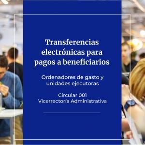 TRANSFERENCIAS ELECTRONICAS