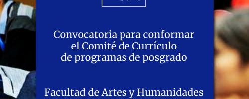 COMITE POSGRADOS ARTES Y HUMANIDADES