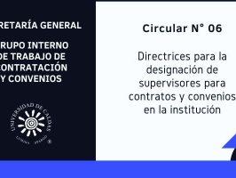 Directrices para la designación de supervisores para contratos y convenios en la Universidad de Caldas