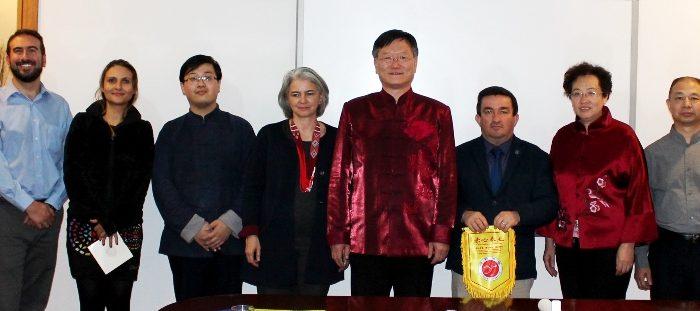 Convenio U de Caldas Handan College China