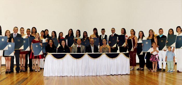Graduados Licenciatura Educación Ambiental Aguadas Universidad de Caldas