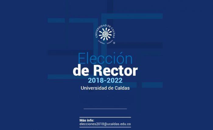 Elección Rector Universidad de Caldas