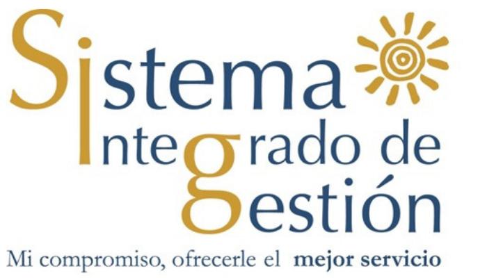 SISTEMA INTEGRADO DE GESTION