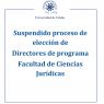 Proceso elección director FCJ