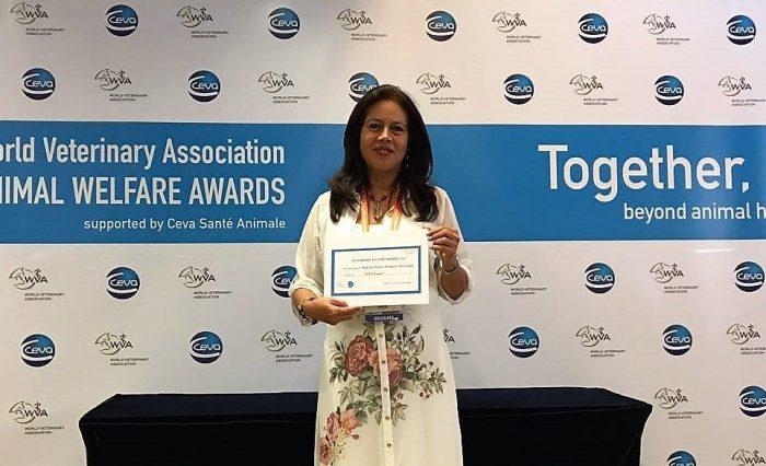 Marlyn Romero Animal Welfare Awards Universidad de Caldas