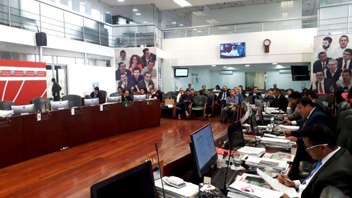 Votacion proyecto estampilla Comision